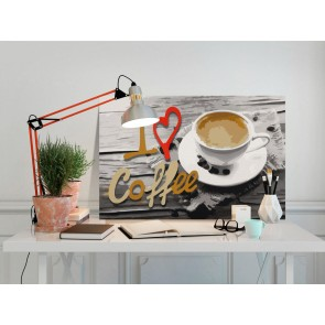 Quadro fai da te - I Love Coffee