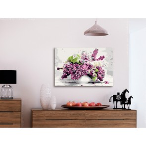 Quadro fai da te - Vase and Flowers