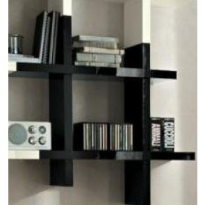 mobili libreria outletarreda. Black Bedroom Furniture Sets. Home Design Ideas