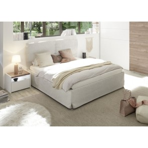 Letto matrimoniale king size ecopelle