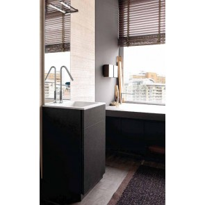 Mobile bagno design moderno base cassettone e cassetto interno L 50 - art 310