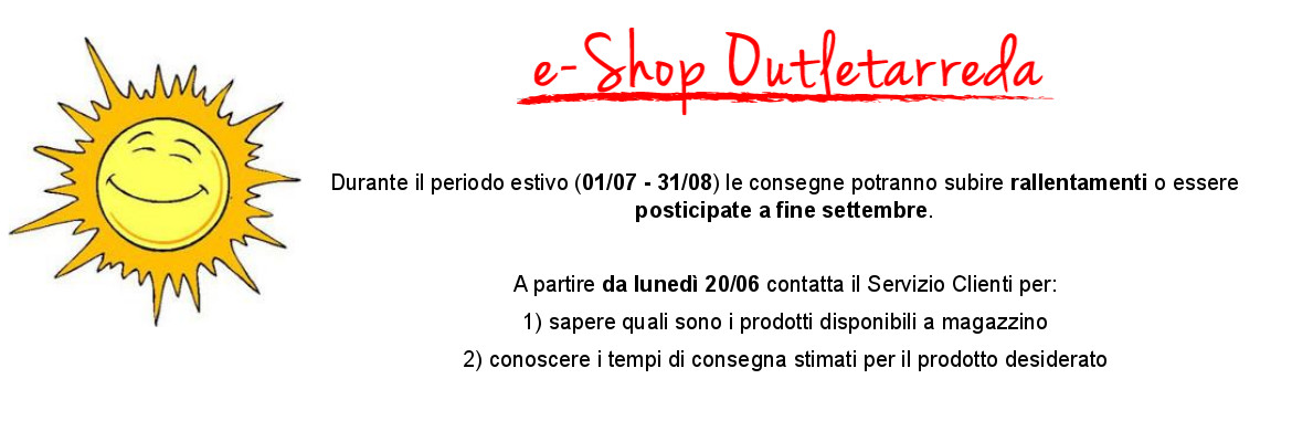 Outlet mobili online e shop outletarreda for Store mobili online